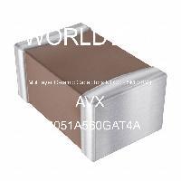 08051A560GAT4A - AVX Corporation - Condensateurs céramique multicouches MLCC - S