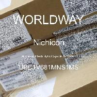 UBC1V681MNS1MS - Nichicon - Aluminum Electrolytic Capacitors - SMD