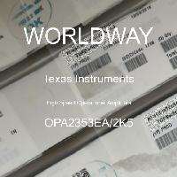 OPA2353EA/2K5 - Texas Instruments - Amplificateurs opérationnels à grande vitesse