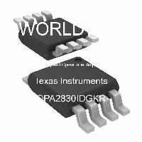 OPA2830IDGKR - Texas Instruments - High Speed Operational Amplifiers