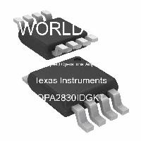 OPA2830IDGKT - Texas Instruments - High Speed Operational Amplifiers
