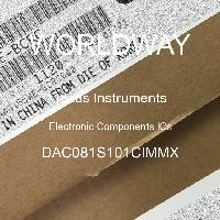 DAC081S101CIMMX - Texas Instruments - Electronic Components ICs