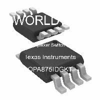 OPA875IDGKT - Texas Instruments - 멀티플렉서 IC