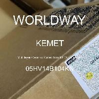 05HV14B104KN - Kemet Electronics - 積層セラミックコンデンサMLCC-リード付き