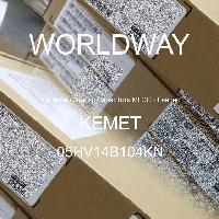 05HV14B104KN - Kemet Electronics - Multilayer Ceramic Capacitors MLCC - Leaded