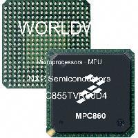 MPC855TVR50D4 - NXP Semiconductors