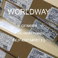 NUP4201MR6T1G - ON Semiconductor - TVS Diode Arrays