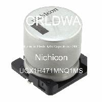 UCX1H471MNQ1MS - Nichicon - Aluminum Electrolytic Capacitors - SMD