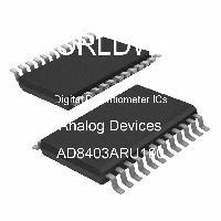 AD8403ARU100 - Analog Devices Inc - Circuitos integrados de potenciómetros digita