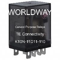 K10N-11D11-110 - TE Connectivity - General Purpose Relays