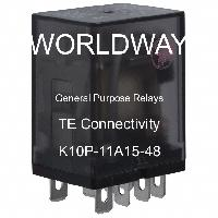 K10P-11A15-48 - TE Connectivity - General Purpose Relays
