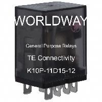 K10P-11D15-12 - TE Connectivity - General Purpose Relays