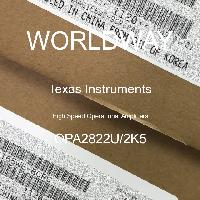 OPA2822U/2K5 - Texas Instruments - High Speed Operational Amplifiers