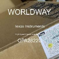 OPA2822U - Texas Instruments - High Speed Operational Amplifiers