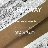 OPA2674ID - Texas Instruments - High Speed Operational Amplifiers