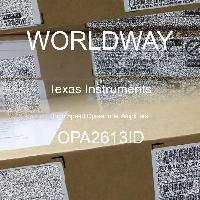 OPA2613ID - Texas Instruments - High Speed Operational Amplifiers