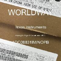 ADC08831IM/NOPB - Texas Instruments - Analog to Digital Converters - ADC