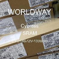 CYD18S72V-133BBC - Cypress Semiconductor - SRAM
