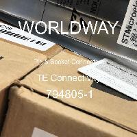 794805-1 - TE Connectivity AMP Connectors - Pin & Socket Connectors