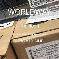 UVK2V101MHD - Nichicon - 铝电解电容器 - 含铅