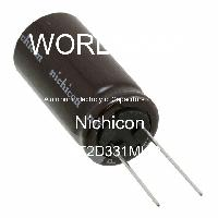 UPT2D331MHD - Nichicon - Kapasitor Elektrolit Aluminium - Bertimbel