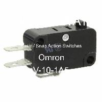 V-10-1A5 - Omron Electronics Inc-EMC Div - Basic / Snap Action Switches