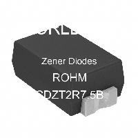 CDZT2R7.5B - ROHM Semiconductor - Diodos Zener