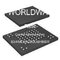S34ML04G200BHI000 - Cypress Semiconductor