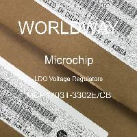MCP1703T-3302E/CB - Microchip Technology Inc - LDO稳压器