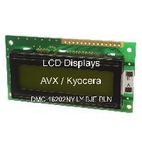 DMC-16202NY-LY-BJE-BLN - Optrex - Kyocera - LCD Menampilkan