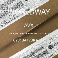 02013A120KAT2A - AVX Corporation - Condensateurs céramique multicouches MLCC - S