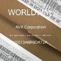 02013A6R0DAT2A - AVX Corporation - Condensateurs céramique multicouches MLCC - S
