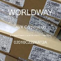 02016C222KAT2A - AVX Corporation - Condensateurs céramique multicouches MLCC - S