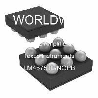 LM4675TL/NOPB - Texas Instruments