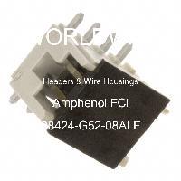98424-G52-08ALF - Amphenol FCi - Headers & Wire Housings