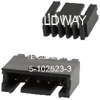 5-102523-3 - TE Connectivity AMP Connectors - Headers & Wire Housings