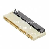 XF2B-4145-31A - OMRON Electronic Components LLC - FFCおよびFPCコネクタ