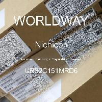 URS2C151MRD6 - Nichicon - Kapasitor Elektrolit Aluminium - Bertimbel