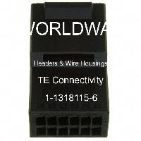 1-1318115-6 - TE Connectivity Ltd - Headers & Wire Housings