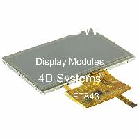 4DLCD-FT843 - 4D Systems - Modul display