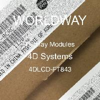 4DLCD-FT843 - 4D Systems - Display Modules