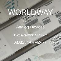 AD8251ARMZ-R7 - Analog Devices Inc - Instrumentation Amplifiers