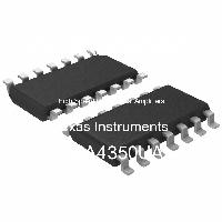OPA4350UA - Texas Instruments - High Speed Operational Amplifiers