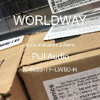 X-4033-TF-LW80-R - PUI Audio - Audio Indicators & Alerts