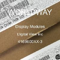 4169600XX-3 - Digital View Inc - Display Modules