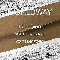 CSD16407Q5C - Texas Instruments - IGBT 트랜지스터