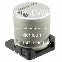 UUG1H471MNQ1MS - Nichicon - Aluminum Electrolytic Capacitors - SMD
