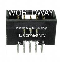 5-102557-9 - TE Connectivity AMP Connectors - Headers & Wire Housings