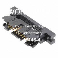 5111448-4 - TE Connectivity - Header & Rumah Kawat