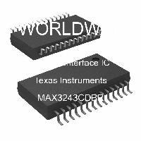 MAX3243CDBR - Texas Instruments